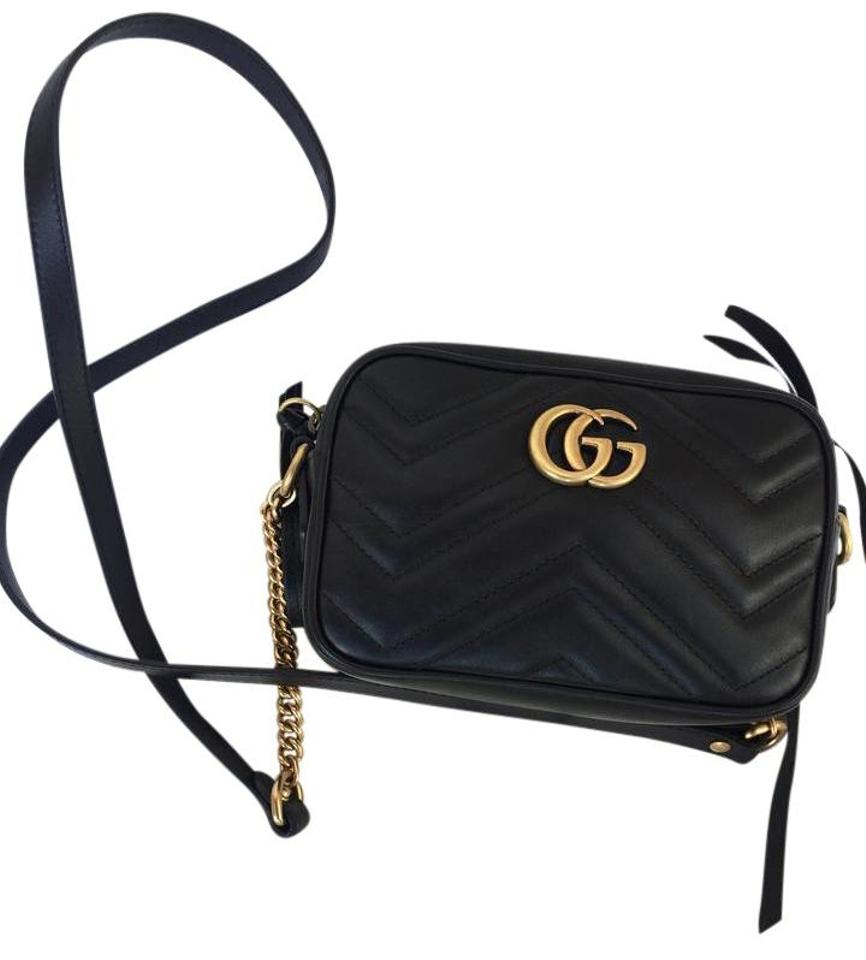 6903f62fd92 Gucci Marmont Gg Marmont Matelass Mini Marmont Cross Body Bag Image 0 ...