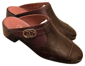 Chanel Mules brown/burgundy Mules
