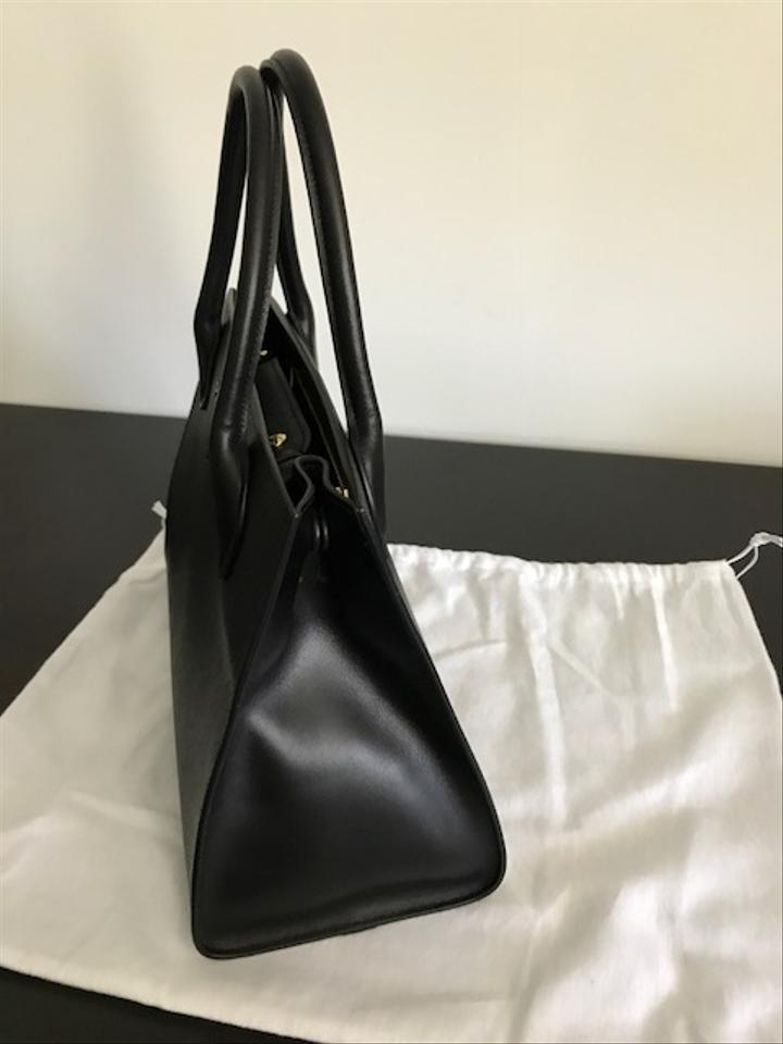 cd5011fddb39 Prada Winter 2018 Cuir 1ba155 Black Saffiano Leather Tote - Tradesy