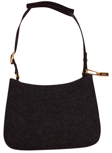 Preload https://img-static.tradesy.com/item/21429849/coach-casual-evening-black-and-grey-leather-wool-baguette-0-1-540-540.jpg