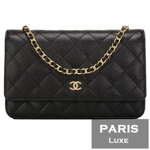Chanel Classic Flap Woc Wallet On Chain Caviar Cross Body Bag
