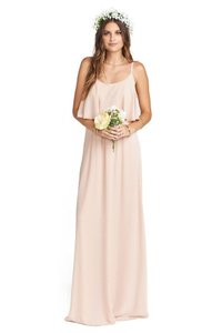 Show Me Your Mumu Dusty Blush Crisp Caitlin Destination Bridesmaid/Mob Dress Size 8 (M)