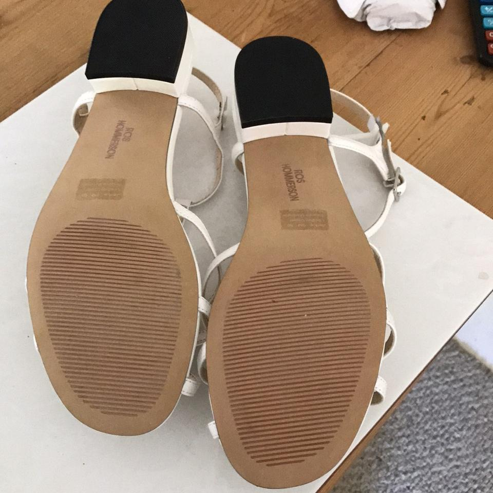Ros Jackie Jackie White Hommerson Hommerson Ros Ros Sandals White Sandals Hommerson w6ptqTUU