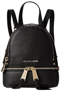 Michael Kors Rhea Leather Extra Small Backpack