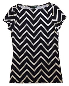 Lauren Ralph Lauren T Shirt black and white