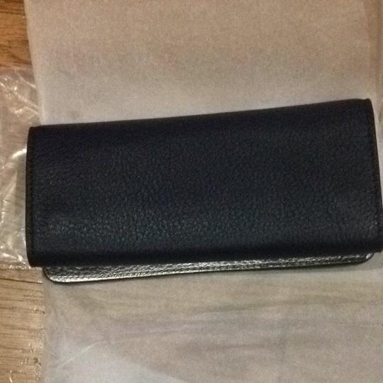 Tory Burch Tory Navy leather travel Jewelry Roll