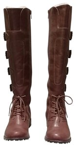 Matisse Cognac Leather Boots