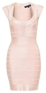 French Connection #bandage #sexy #datenight #pink #bodycon Dress
