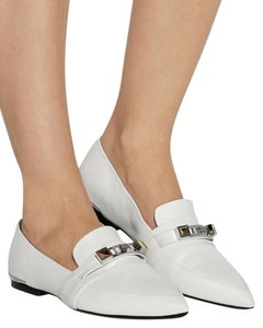 Proenza Schouler Studded Loafers White Flats