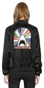 Saint Laurent Embroidered Chic Hot Black, Rainbow Jacket