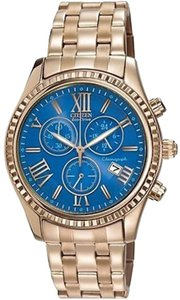 Citizen Citizen Eco-drive Aml Chronograph Ladies Watch Fb1363-56l