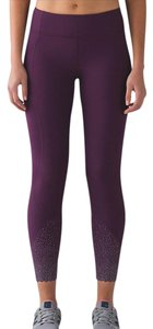 Lululemon NWT Lululemon Tight Stuff Tight II DKMG Dark Magenta Sz 2 Reflective