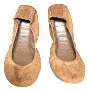Tory Burch Brown suede Flats