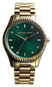 924616c13a81 Michael Kors MICHAEL KORS Gold Tone Green Dial Women s Watch