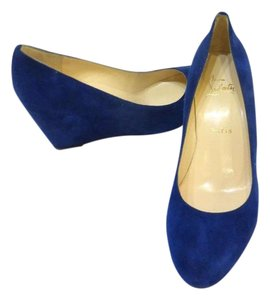 Christian Louboutin Royal Blue Pumps
