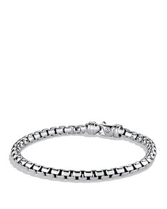 David Yurman Men's Large Box Chain Bracelet, 5mm