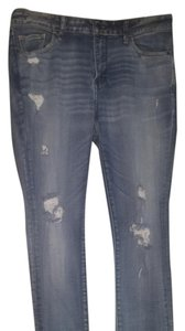 Abercrombie & Fitch Skinny Jeans-Distressed