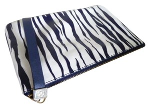 Ann Taylor Wristlet in Black, Navy and White