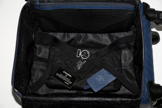 Chanel blue Travel Bag Image 10