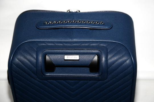 Chanel blue Travel Bag Image 4