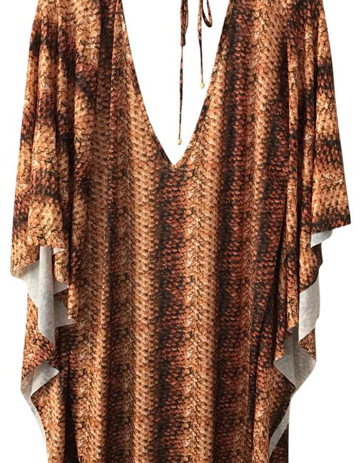 Item - Brown / Black / Golden 336423035 Cover-up/Sarong Size 8 (M)