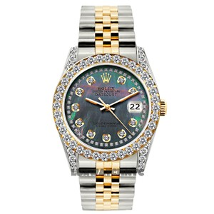 ROLEX 26MM LADIES DATEJUST GOLD S/S WATCH WITH BOX & APPRAISAL