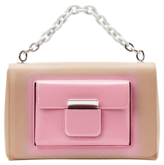 Preload https://img-static.tradesy.com/item/21434935/balenciaga-new-beige-and-pink-leather-shoulder-bag-0-2-540-540.jpg