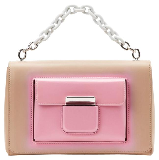 Balenciaga New Top Hanlde Chain Nude Pink Leather Shoulder Bag Balenciaga New Top Hanlde Chain Nude Pink Leather Shoulder Bag Image 1