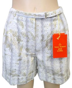 Vivienne Westwood Lace Westwood Dress Shorts Cream/Gold