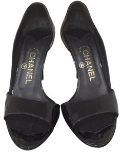 Chanel black patent Formal