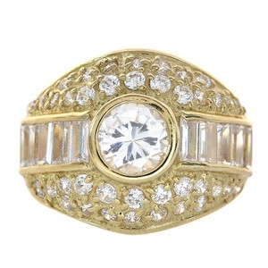 Avital & Co Jewelry 14k Yellow Gold 3.00 Carat Cubic Zirconia Ring