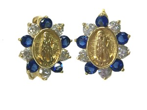 other 14 K Yellow Gold (cz) Sapphire Guadalupe