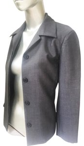 Marc Jacobs Marc Blazer M Work Gray Sz6 M Couture Steel Gray Jacket