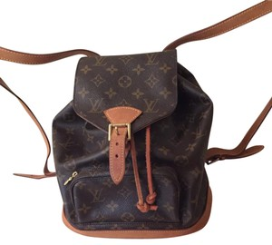 Louis Vuitton Montsouris Mm M51136 Backpack