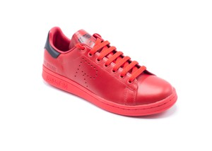 adidas Sneakers Fashion Leather red Athletic