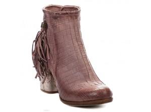 A.S. 98 Mid-calf Made In Italy Size Eu 38 / Us 7.5 Old Pink Boots