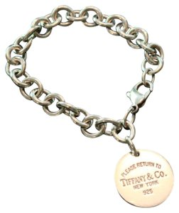 Tiffany & Co. Return to Tiffany Sterling Silver Bracelet- Retired