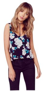 Flynn Skye Floral Summer Night Out Top Black/Floral