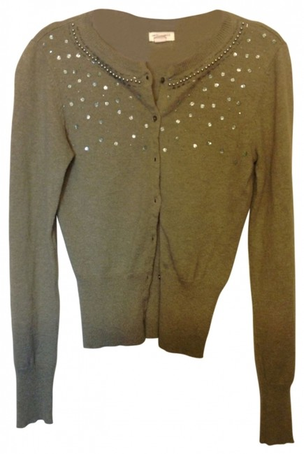 Preload https://item2.tradesy.com/images/american-eagle-outfitters-khaki-green-beaded-sequins-soft-cozy-sweater-cardigan-size-2-xs-21436-0-0.jpg?width=400&height=650