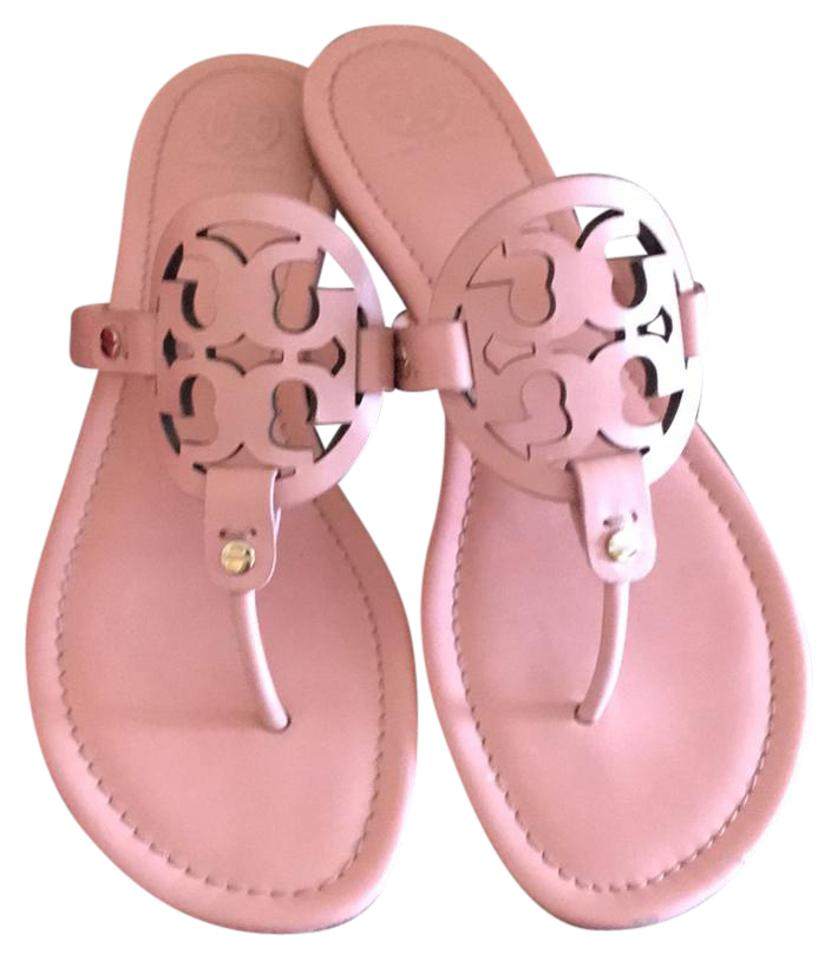 Tory Clay Burch Clay Tory Pink Miller Slide Sandals dc4dfb