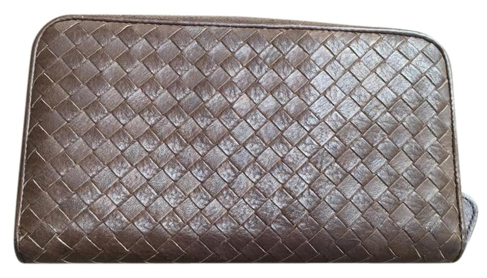 b85b860633f7f Bottega Veneta Ziparound wallet in intrecciatto nappa leather Image 0 ...