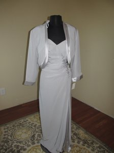 Montage Silver Montage/112906 Silver Size 16 Dress