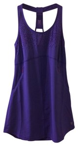 Title nine short dress Purple Racer-back Athletic Performance Fabric Pockets on Tradesy