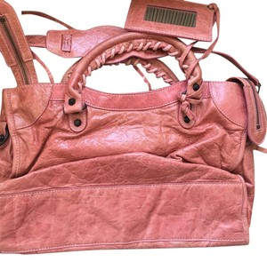 Balenciaga Satchel in Bubblegum Pink