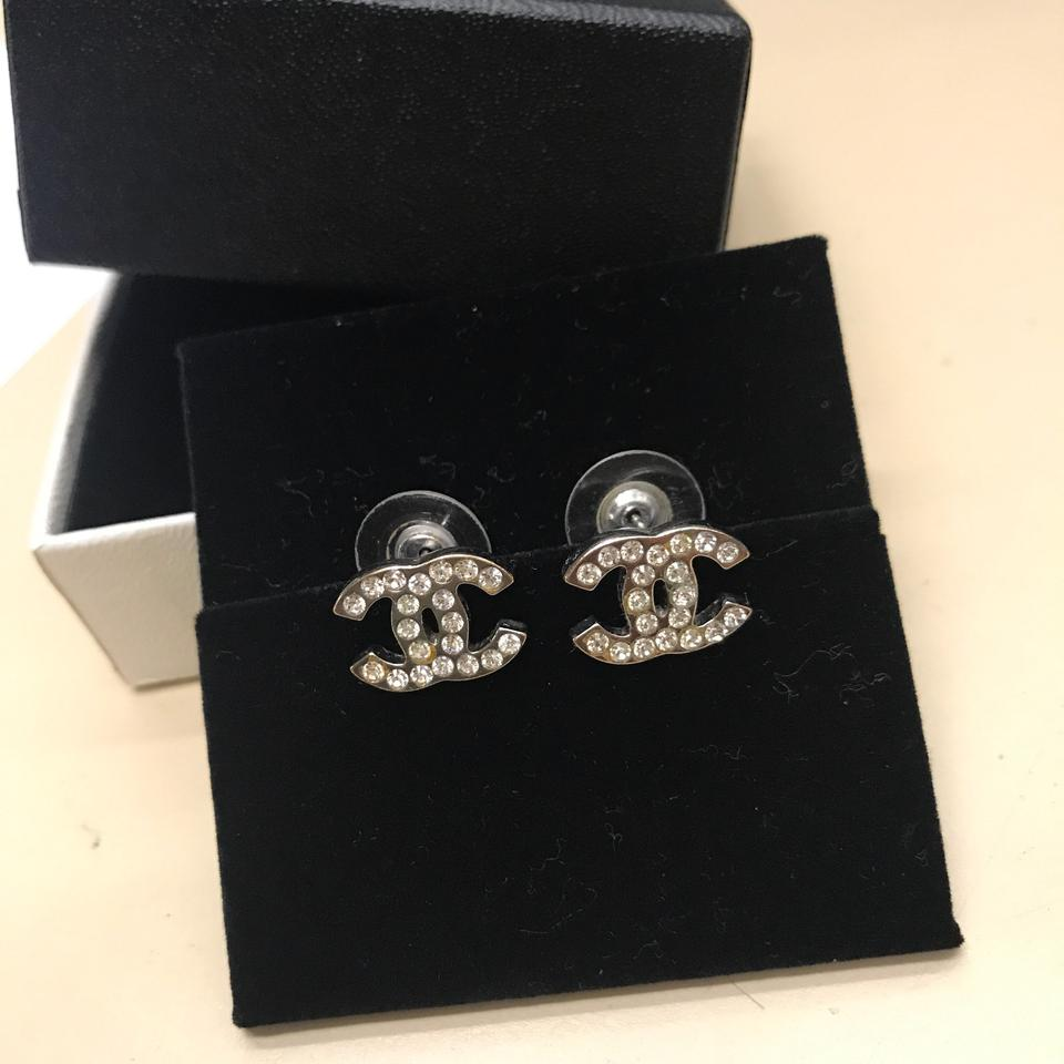 classic stud earrings store push back diamond white gold prongs