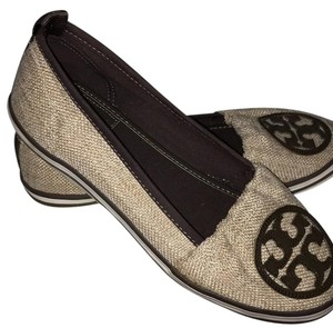 Tory Burch beige And brown Flats