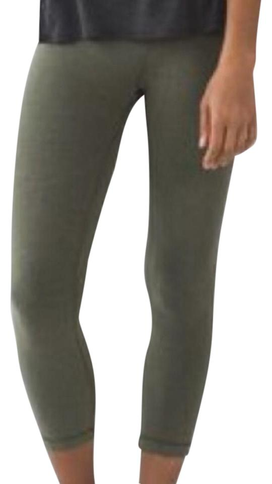 372ce4b77 Lululemon Fatigue Green Wunder Under - Activewear Bottoms Size 2 (XS ...