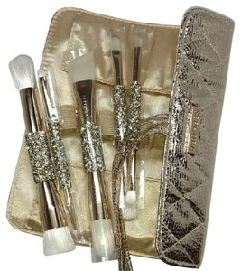 Sephora Sephora Double Time Double-Ended 5-Piece Brush Set Champagne Gold
