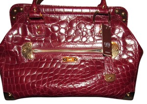 Rafe Satchel in Red
