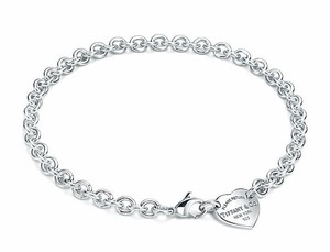 Tiffany & Co. Please Return To Tiffany & Co Heart Tag Choker Necklace 15.5